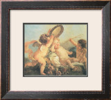 Festa di Putti Prints by L. Boucher
