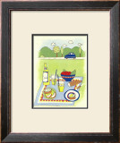 Country Picnic Poster by Lorraine Cook