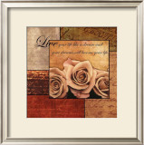 Romantic Roses Prints by Anne Courtland