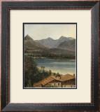 Wolfgangsee, Lake Wolfgang in the Salzkammergut Posters by Ferdinand Georg Waldmueller