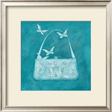 Butterfly Motif Purse Posters by Deb Garlick
