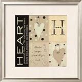 Heart Prints by Kim Klassen
