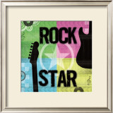 Rock Star Posters by Louise Carey