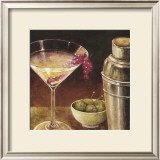 Martini with Grapes I Posters by Eric Barjot