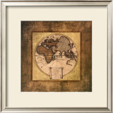 Global Map I Art by Krissi 