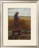 Summer Harvest Posters by Leopold Karl Walter von Kalckreuth