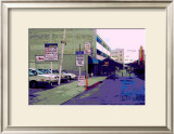 Public Parking Down Town, Los Angeles, California Framed Giclee Print by Steve Ash