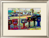 Jobs, Venice Beach, California Framed Giclee Print by Steve Ash
