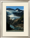 Waterfall Glacier Framed Giclee Print by Charles Glover