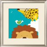 Safari Group: Leopard and Lion Prints by Yuko Lau