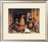 Scene at Bolton Abbey Framed Giclee Print by Edwin Landseer