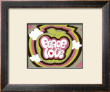 Peace and Love Prints by Béatrice Patrat-canard