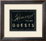 Reserved Prints by Lisa Vincent