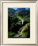 Breaking Waterfall, New Zealand Posters by Charles Glover