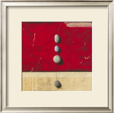 Paisibles dans Un Rouge Eloquent Prints by Marylin Cavin