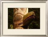 Great Northwest Eagle Spirit Totem Framed Giclee Print by Charles Glover