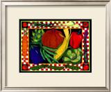 Bountiful Garden Framed Giclee Print