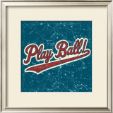 Play Ball Print by Peter Horjus