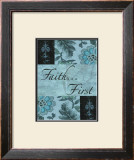 Faith First Posters by Marilu Windvand