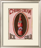 Cherry Cream Posters by Gregory Gorham