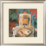 Robot III Prints by Isabelle Cochereau