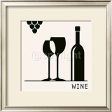 Wine Posters by Ute Nuhn