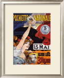Loterie-Pochette Nationale, 1907 Poster by Maurice Tamagno