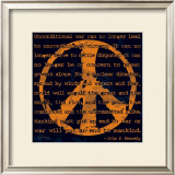Peace Sign III Posters by Sylvia Murray