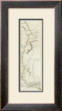 Course of the River Mississipi, from the Balise to Fort Chartres, c.1775 Framed Giclee Print by  Lieutenant Ross