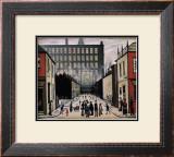 Street Scene Prints by Laurence Stephen Lowry