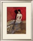 Portrat der Frau des Kunstlers Art by Albert Keller