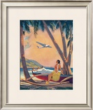 Hawaiian Hula Girl Fantasy Prints by Frederick Heckman