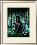 Woman in the Dark Framed Giclee Print by Kyo Nakayama
