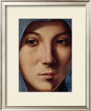 Gesicht der Maria Portrait Prints by  Antonello da Messina