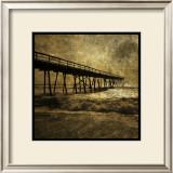 Ocean Pier No. 3 Poster by John Golden