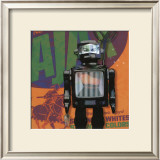 Robot IV Prints by Isabelle Cochereau