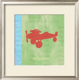 Vintage Toys Airplane Prints by Paula Scaletta