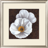 White Poppies II Art by Jordan Gray