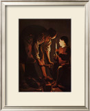 Sait Joseph Charpentier Posters by George De La La Tour