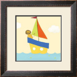 Sailboat Adventure II Prints by Erica J. Vess