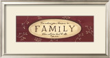 Treasure Is Family Prints by Karen Tribett