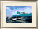 110 North Downtown Framed Giclee Print by Steve Ash
