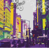 Streetscape Prints by Evangeline Taylor