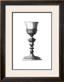Black and White Goblet I Prints by Giovanni Giardini