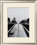 Driving by Clignancourt Prints by Manabu Nishimori