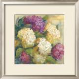 Hydrangea Delight II Prints by Carol Rowan