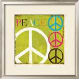 Peace Prints by Mo Mullan