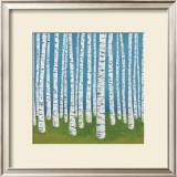 Birch Grove Prints by Lisa Congdon