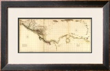 West Indies II, c.1810 Framed Giclee Print by Aaron Arrowsmith