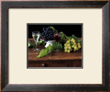 Nature Morte aux Raisins Prints by Dominque Zintzmeyer